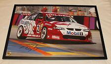 Holden Racing Team HRT Jason Bright 2002 V8 Supercar Signed Framed Print Large