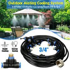 Outdoor Spray Set Water Sprinkler Garden Mister Cooling Patio Misting System