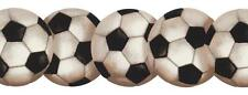 Wallpaper Border Soccer Soccerball Sports Die Cut Edges