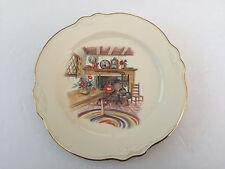 """Homer Laughlin China COLONIAL KITCHEN Virginia Rose - 7-1/8"""" SALAD PLATE"""