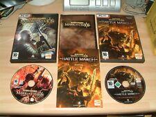 Marca de Caos de Warhammer + conjunto de batalla de marzo Paquete de expansión Juegos PC DVD ROM..