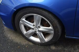 VW EOS / PASSAT B7 SET OF 17' FONTANA ALLOY WHEELS WITH 235/45R17 INCH TYRES