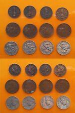 Regno d'Italia - Vitt. Em. III - 5 Cent. x 4  + 10 Cent. x 4 + 20 Cent. x 4 1921