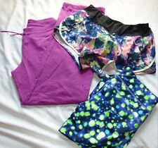 Womens Fitness Lot (3) UNDER ARMOUR, REEBOK & More Pants & Shorts Sz M