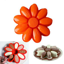 Big Flower Cake Mold Pan Muffin Chocolate Pizza Pastry Baking Tray Silicone Mold