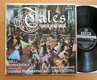 SXL 6040 ED1 Strauss Tales From The Vienna Woods Boskovsky EXCELLENT Decca WBg