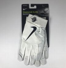 Men's Nike Huarache Elite Batting Glove White L New