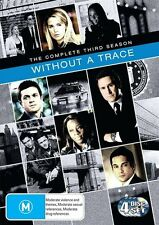 Without a Trace : Season 3 (DVD, 2007, 4-Disc Set)