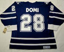 TIE DOMI size XXL - Toronto Maple Leafs CCM 550 Vintage 2000-2007 Hockey Jersey