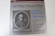 CPE Bach Sinfonie 4 Klavierkonzerte Horst Göbel Jack Martin Händler Thorofon LP4