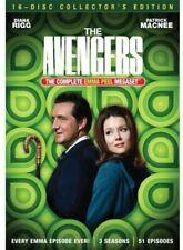 The Avengers: The Complete Emma Peel Megaset - Dvd LN