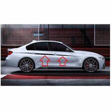 Genuine BMW M Performance Accent Stripes Decals Black Silver F30 F31 3 Series