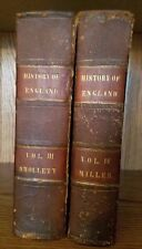 The History Of England, Vol. 4 by Miller & Vol. 3 by Smollett, McCarty, 1840