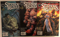 Black Bull Comics Shadow Reavers #1 - 3 2001 First 3 Issues NM