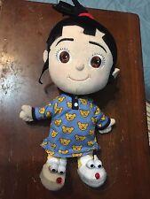 "Despicable Me 2 Agnes Doll Plush 15"" Stuffed Animal Universal Talking Light Up"