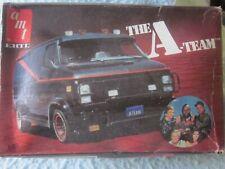 "New listing Amt Ertl ""The A-Team"" Gmc Custom Van 1:25 Model Kit"