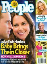 2013 People Magazine: William & Kate Baby Brings Them Closer/Miranda/Roger Ebert