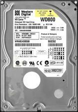 WESTERN DIGITAL WD800BB-53CAA1 80GB IDE HARD DRIVE  DCM: HSFHNA2CH