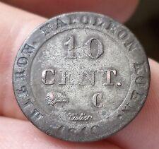 10 CENTIMES JEROME NAPOLEON WESPHALIE 1810 CC