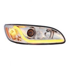 Peterbilt 386/387 Projection Headlight w Dual Function LED Light Bar - Passenger