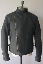 Gucci Blue Cotton Biker Style Jacket