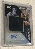 2018-19 CHRONICLES MICHAEL PORTER JR PATCH AUTO XR /50 jumbo Rookie Card Patch