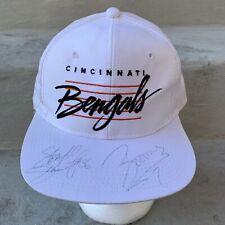 Cincinnati Bengals Vintage Hat Snapback Cap White NFL Football 90s