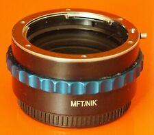 Novoflex MFT / NIK adapter Nikon F mount lens to Micro 4/3   MFT BMPCC