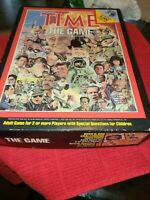 Vintage TIME the game board game 1983