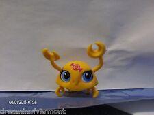 Littlest Pet Shop -Orange Crab~ Candy Swirl Blind Bag Set #3329