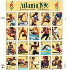Scott #3068.32 Cent. Atlanta Olympics 1996.,Sheet of 20