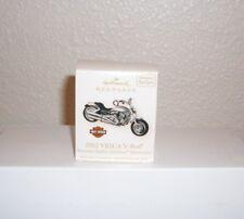 Hallmark Ornament Harley Davidson Motorcycle 2002 VRSCA V-Rod # 10  New
