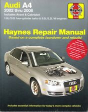 2002- 2008 Audi A4 Haynes Repair Service Workshop Shop Manual Book Guide 837X
