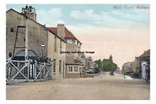 rp15268 - Railway Crossing , Moss Road , Askern , Yorkshire - photo 6x4