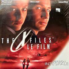LASERDISC - X-FILES - LE FILM VERSION INTEGRALE - VF PAL - COMME NEUF - RARE