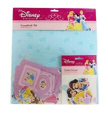 Disney Princess - Mega Bundle 3 Scrapbook Kits and 3 Creative Cut-Outs Packs