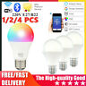 Dimmable B22/E27 WiFi Smart Light Bulb RGB LED Lamp Smart home APP Control DE