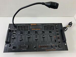 Vintage Gemini PDM 6008 4-Channel Preamp Mixer Digital Sampler DJ Tested Works