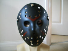 Jason Voorhees Black Scary Mask Hockey Halloween Mask Friday13th