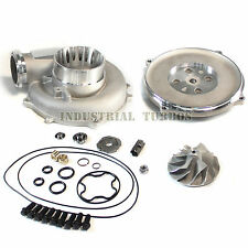 ▄▀▄▀FORD Powerstroke 7.3L TP38 Turbo 66/88 Cast Compressor wheel DIY upgrade Kit