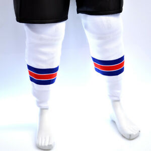 NHL Ice Hockey Knitted Socks - New York Rangers Home and Away All Sizes