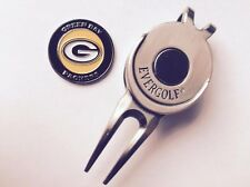 Nfl Green Bay Packers Golf Ball Marker and Magnetic Divot Tool