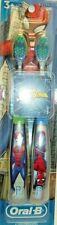 Oral B - 2 Pack MARVEL SPIDERMAN - Manual Toothbrushs - Extra Soft Bristles -