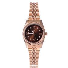 10 x Spirit mujer cuarzo analógico relojes en Rosa Oro