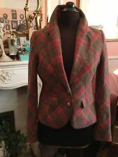 Ness Of Edinburgh Wonderful Tartan Tweed Fitted Jacket