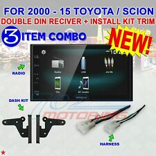 FITS TOYOTA & SCION KENWOOD SCREEN MIRROR BLUETOOTH USB CAR RADIO STEREO PGK
