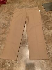The Limited Straight Dress Pants Trousers Beige 16W NWT $79 (128)