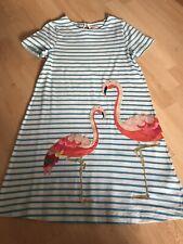 Stunning Girls MINI BODEN Appliqué Flamingo Summer Dress 11-12 Years