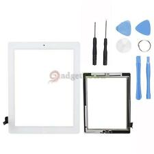 Touch Screen Digitizer w/Home Button Assembly for iPad 2 White A1395 A1396 Tools