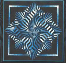 Spiral Motion quilt pattern by KwiltArt for Checkers